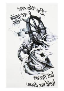 faux tatouage, tatouages temporaires, faux tatouage marin, faux tatouage ancre marine, Tatouages Temporaires, Ancre de Marin