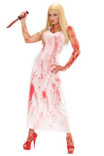 déguisement halloween femme, déguisement sanglant femme halloween, déguisement carrie halloween, déguisement bloody mary halloween, Déguisement de Carry Bloody Zombie