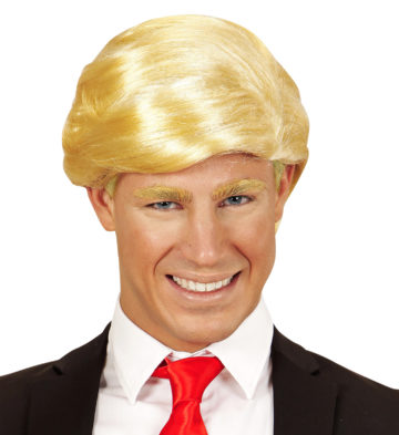 Perruque donald trump blonde aux feux de la f te paris for Coupe de cheveux donald trump