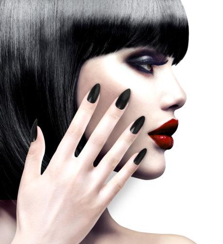 faux ongles noirs, faux ongles déguisements, faux ongles sorcière, faux ongles griffes, faux ongles halloween, faux ongles de chat, Faux Ongles Noirs, pour Griffes ou Sorcières