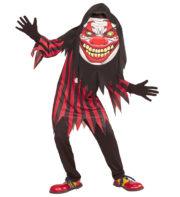 déguisement clown effrayant garçon, déguisement clown halloween garçon, costume clown halloween garçon, déguisement garçon halloween, déguisement clown sinistre halloween garçon Déguisement de Clown de l'Horreur, Garçon