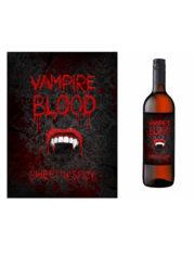 décorations halloween, étiquettes pour bouteille halloween, décorations vampire, étiquettes de décoration bouteilles, décorations vampires halloween Etiquettes pour Bouteilles, Vampire