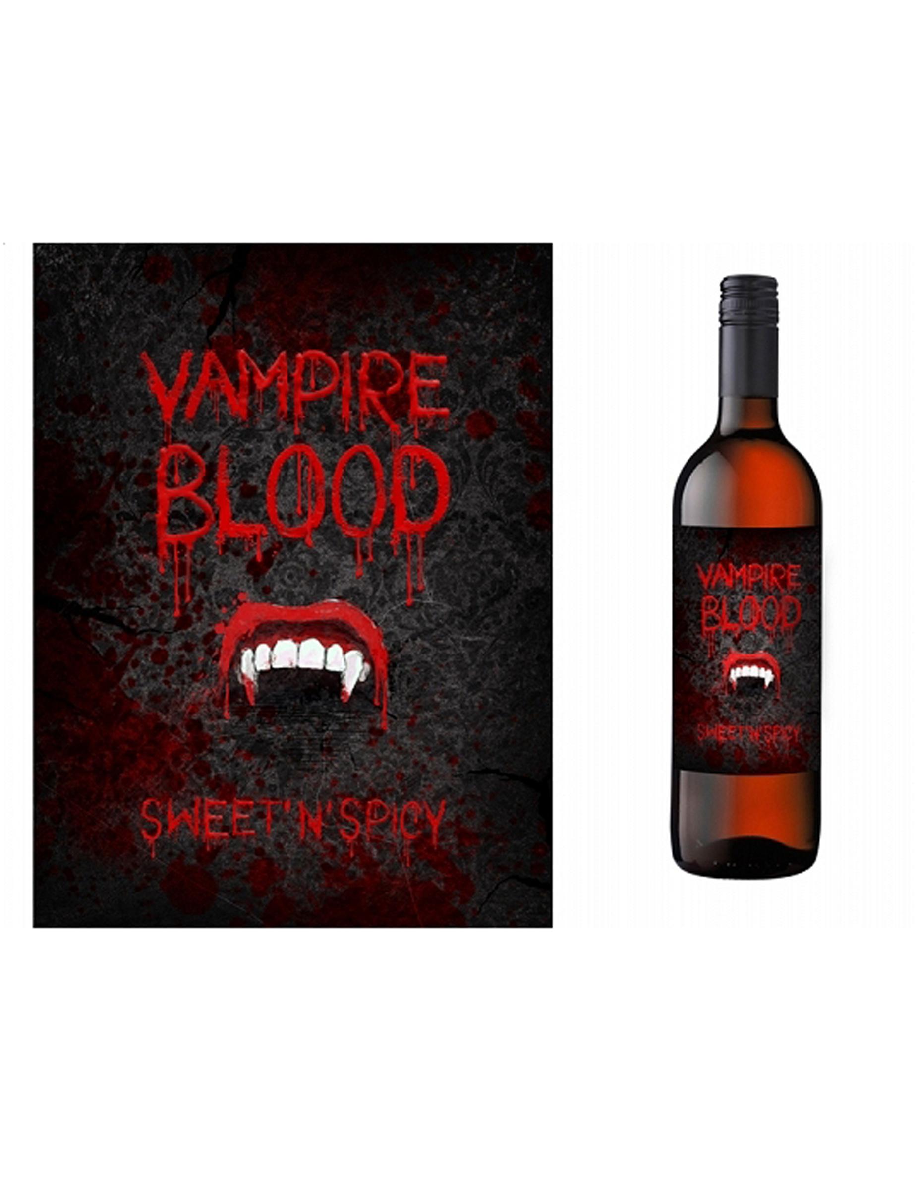etiquettes pour bouteilles vampire aux feux de la f te paris. Black Bedroom Furniture Sets. Home Design Ideas