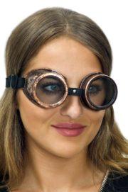 lunettes steampunk, accessoire steampunk, lunettes halloween, lunettes steampunk halloween Lunettes Steampunk, Acier Vieilli