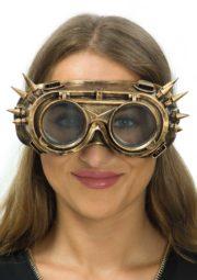 lunettes steampunk, accessoire steampunk, lunettes halloween, lunettes steampunk halloween Lunettes Steampunk, Masque et Pointes, Bronze