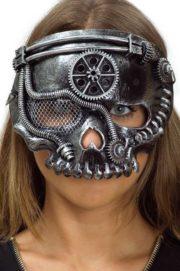 masque steampunk, accessoire steampunk, steampunk halloween, masque steampunk, loup steampunk Masque Steampunk, Tête de Mort