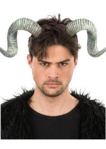 cornes de viking, accessoire déguisement viking, cornes viking en latex, fausses cornes de viking, chapeau de viking, accessoire viking déguisement, Cornes de Viking à Pointes de Bélier, en Latex
