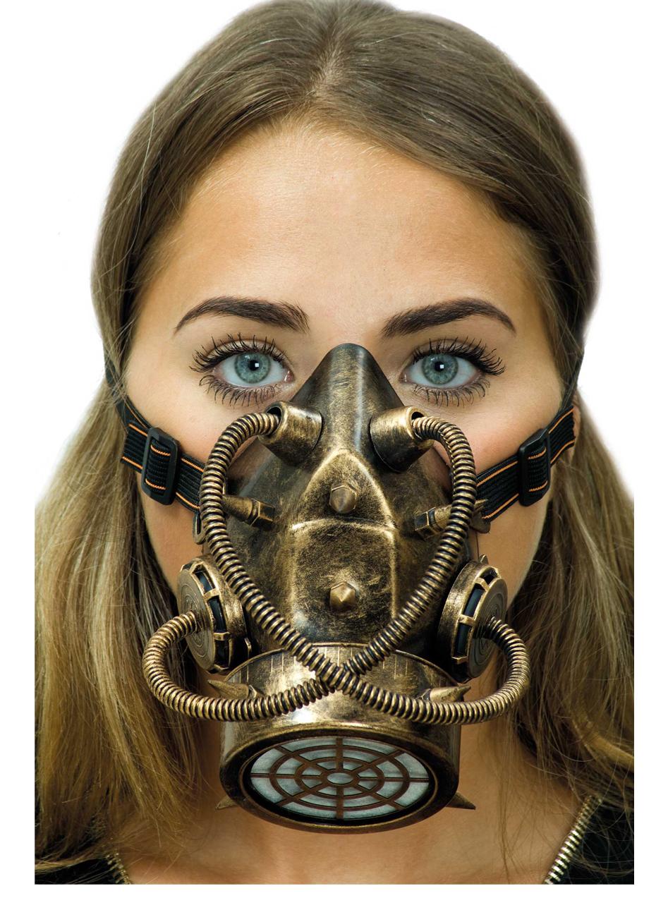 masque gaz steampunk bronze vieilli aux feux de la. Black Bedroom Furniture Sets. Home Design Ideas