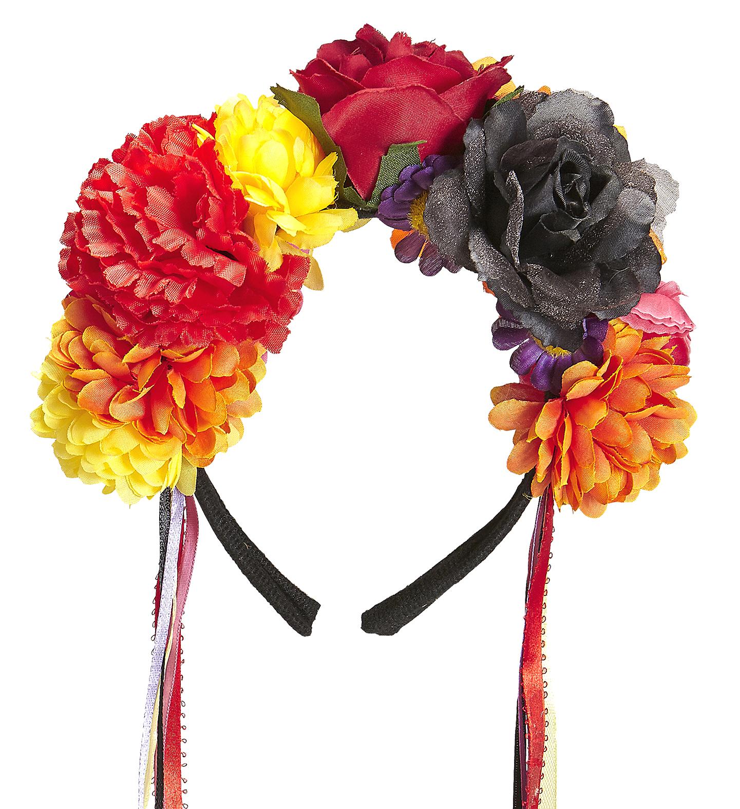 Bandeau à Fleurs, Jour des Morts Mexicain - Aux Feux de la Fête - Paris