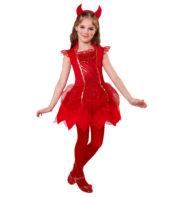 déguisement diable fille, costume de diable fille, déguisement halloween fille, costume halloween fille, déguisement diablesse fille Déguisement de Diablesse Démon, Fille