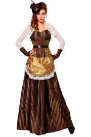 déguisement steampunk, robe steampunk, déguisement steampunk pour femme Déguisement Lady Steampunk