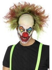 perruque de clown, clowns effrayants accessoires, perruque clown effrayant, perruque clowns tueurs, accessoire déguisement clown effrayant Perruque de Clown Sinistre, Scary Clown