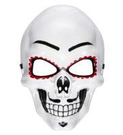 masque squelette mexicain, masque de déguisement, masque mexicain halloween, masque déguisement halloween, accessoire déguisement halloween masque, masque dia de los muertos, masque dia de la muerte, masque halloween, masque halloween day of death, jour des morts mexicain, masque jour de morts adulte, masque halloween femme Masque Jour des Morts Mexicain