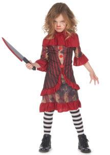 déguisement clown maléfique, déguisement clown ca pour enfant, déguisement halloween clown, Déguisement de Clown Terrifiant, Fille