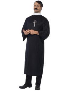 déguisement de curé, déguisement de prêtre, déguisement curé homme, costume de curé pour homme, déguisement religions, déguisement curé pour homme, Déguisement de Curé de Campagne