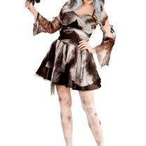 déguisement halloween femme, déguisement mariée noire femme, costume halloween femme, déguisement fantôme femme