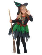 déguisement de sorcière enfant, déguisement halloween fille, déguisement halloween enfant, déguisement sorcière halloween enfant, déguisement sorcière halloween fille, costume halloween enfant, costume sorcière fille Déguisement de Sorcière des Bois, Fille