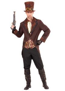 déguisement steampunk pour homme, costume steampunk homme, déguisement steampunk homme, Déguisement Steampunk, Veste Marron