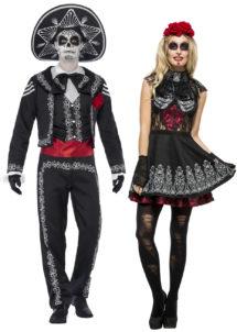 déguisement couple day of death, déguisement dia de la merge, déguisement mort mexicaine, déguisement dios de los muertos, déguisement halloween couple, Déguisements Couple, Jour des Morts Mexicains