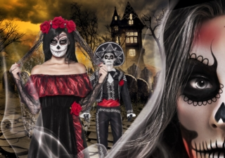 Soirée déguisement déco Sélection Dia de los Muertos
