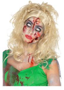 perruque blonde halloween, perruque halloween femme, perruque pour halloween, perruque zombie femme halloween, Perruque de Zombie, Fairy, Blonde