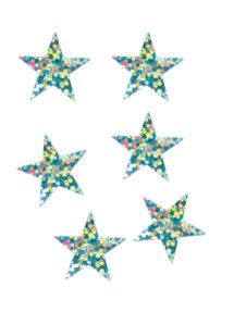décorations de noël, décos de noël, décorations de réveillon, confettis de table, confettis étoiles, Confettis de Table, Etoiles Hologrammes Bleu Ciel