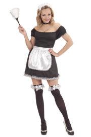 déguisement de soubrette, déguisement sexy soubrette, costume soubrette femme, costume soubrette adulte Déguisement Soubrette Sage