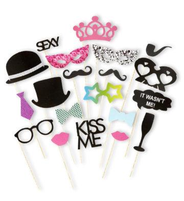 kit Photo Booth, moustaches pour photos, accessoire déguisement photos, accessoires  evjf, Photo