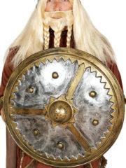 bouclier viking, accessoire antiquité viking, bouclier accessoire déguisement, accessoire déguisement viking, bouclier accessoire déguisement, accessoire viking déguisement, bouclier viking déguisement Bouclier de Viking, PVC Métal Vieilli, 61 cm