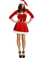 déguisement de mère noël, déguisement de noël, costume de mère noël femme, costume père noël femme Déguisement Mère Noël, Fever Santa Babe
