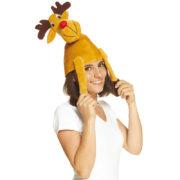 chapeau de renne, accessoire de renne, chapeaux animaux, chapeaux humour, chapeaux de noël, chapeaux d'animaux Chapeau de Renne