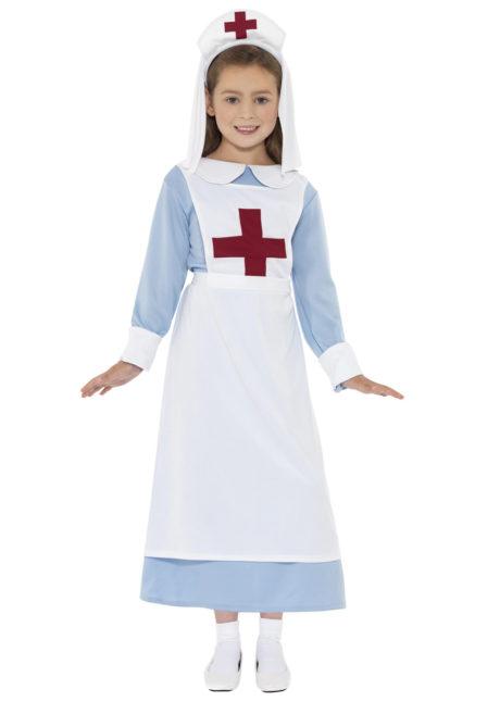 déguisement d'infirmière fille, déguisement infirmière enfant, costume d'infirmière fille, déguisements enfants, déguisements filles, Déguisement d'Infirmière Croix Rouge, Fille