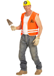 gilet de travaux, gilet men at work, gilet de chantier déguisement, déguisement gilet de chantier, Gilet de Chantier Men at Work