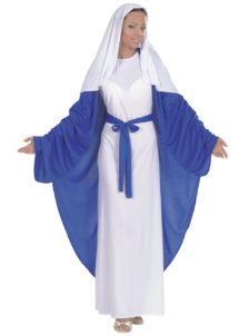 déguisement de marie, déguisement de sainte vierge, déguisement de madone, déguisement de noël femme, déguisement de vierge marie, Déguisement de Marie, Sainte Vierge