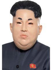 masque de kim jong un, masque de dictateur coréen, masque latex personnalités, masques politiques, masques présidents, masque président nord coréen, masque dictateur, masque kimjongun Masque de Kim Jong Un, Président Nord Coréen