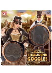 lunettes steampunk, accessoire steampunk, lunettes halloween, lunettes steampunk halloween, lunettes aviateur ancien, lunettes steampunk, Lunettes Steampunk, Googles, Acier Vieilli