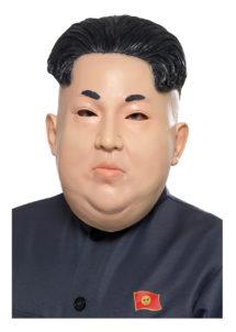 masque de kim jong un, masque de dictateur coréen, masque latex personnalités, masques politiques, masques présidents, masque président nord coréen, masque dictateur, masque kimjongun, Masque de Kim Jong Un, Président Nord Coréen