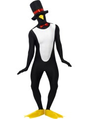 second skin pingouin, déguisement seconde peau, déguisement seconde peau pingouin, déguisement animal Déguisement de Pingouin, Déguisement Seconde Peau