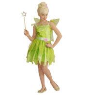 déguisement fée clochette, déguisement fée verte fille, déguisement fille fée, déguisement mardi gras enfant, costume fée clochette enfant Déguisement de Fée Verte, avec Ailes, Fille