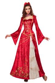 déguisement princesse renaissance, déguisement de marquise, déguisement de princesse médiévale, déguisement de princesse pour femme Déguisement de Princesse Renaissance