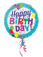 ballon hélium, ballon anniversaire, ballon happy birthday, ballon à l'hélium, ballon aluminium, ballon mylar Ballon Hélium Anniversaire, Happy Birthday Ballons