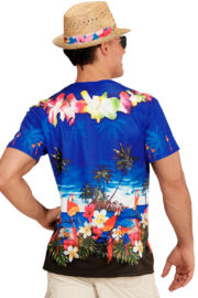 déguisement Hawaï adulte, tea shirt hawaiien, chemise hawaïenne, chemise Hawaï, accessoire Hawaï adulte, tea shirt 3D, soirée Hawaï déguisement Chemise Tea Shirt en Imprimé 3D, Hawaï