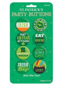 badges saint patrick, accessoires saint patrick, déguisements saint patrick, pins saint patrick, trefles saint patrick, Badges Saint Patrick, Irish for Ever