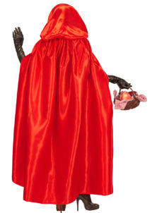 cape rouge, cape de diable, cape halloween, cape chaperon rouge, cape rouge en satin, cape halloween, cape de diable halloween, cape carnaval de veins, cape longue à capuche, cape à capuche déguisement, Cape Rouge à Capuche, Satin