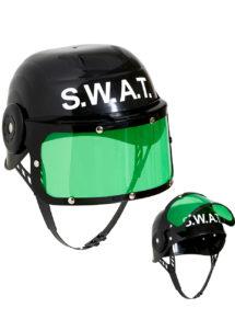 casque police swat, casque police, accessoire déguisement policier, accessoire police américaine, costume de swat, accessoire police swat, Casque de Police SWAT