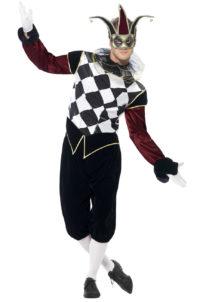 déguisement d'arlequin, déguisement carnaval de venise, déguisement arlequin homme, costume arlequin homme, costume arlequin venise homme, Déguisement Arlequin Gothique
