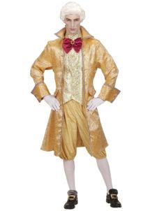 déguisement vénitien, costume vénitien, déguisement carnaval de venise, déguisement de marquis, costume de marquis déguisement, déguisement marquis adulte, déguisement marquis homme, Déguisement de Marquis, Noble Vénitien Gold