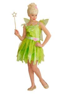 déguisement fée clochette, déguisement fée verte fille, déguisement fille fée, déguisement mardi gras enfant, costume fée clochette enfant, Déguisement de Fée Verte, avec Ailes, Fille