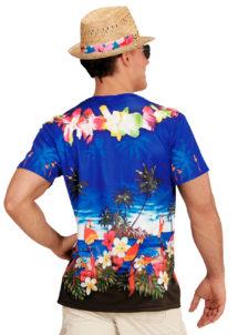 déguisement Hawaï adulte, tea shirt hawaiien, chemise hawaïenne, chemise Hawaï, accessoire Hawaï adulte, tea shirt 3D, soirée Hawaï déguisement, Chemise Tea Shirt en Imprimé 3D, Hawaï