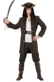 déguisement de pirate adulte, veste de pirate homme, déguisement de pirate adulte, costume de pirate pour homme, manteau de pirate déguisement, déguisement jack sparrow, déguisement pirate des Caraïbes Déguisement de Pirate, Veste Noire